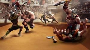 Androidアプリ「剣闘士ヒーローズクラッシュ - ファイティングと戦略ゲーム (Gladiator Heroes)」のスクリーンショット 2枚目