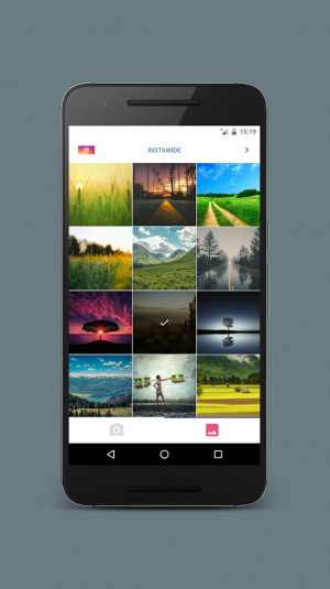 Androidアプリ「InstaWide」のスクリーンショット 1枚目