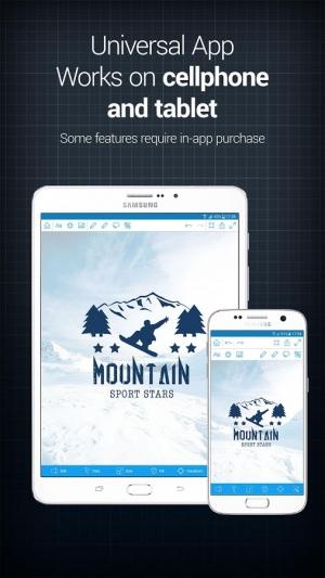 Androidアプリ「InstaLogo Logo Creator (Lite)」のスクリーンショット 5枚目