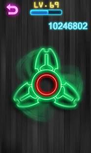 Androidアプリ「指スピナー ハンドスピナー - Fidget Spinner」のスクリーンショット 1枚目