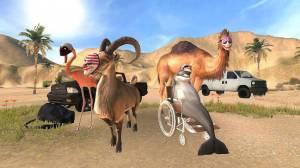 Androidアプリ「Goat Simulator Payday」のスクリーンショット 1枚目