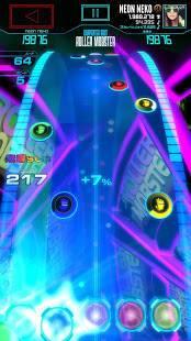 Androidアプリ「Neon FM™—音楽ゲーム|アーケードリズムゲーム」のスクリーンショット 2枚目