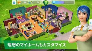 Androidアプリ「The Sims シムズ ポケット」のスクリーンショット 3枚目
