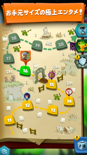 Androidアプリ「Dice Hunter: Quest of the Dicemancer」のスクリーンショット 5枚目