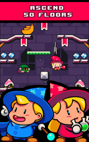 Androidアプリ「Drop Wizard Tower」のスクリーンショット 2枚目