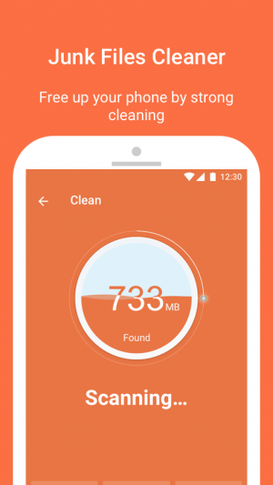 Androidアプリ「Flash Cleaner-Booster,Junk Cleaner & Battery Saver」のスクリーンショット 4枚目