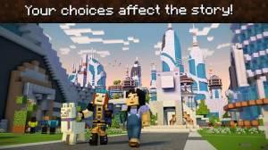 Androidアプリ「Minecraft: Story Mode - Season Two」のスクリーンショット 3枚目