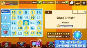 Androidアプリ「英語発音ゲーム-マグナとふしぎの少女」のスクリーンショット 3枚目