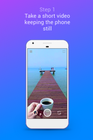 Androidアプリ「Loopsie - Cinemagraph, Living Photo」のスクリーンショット 1枚目