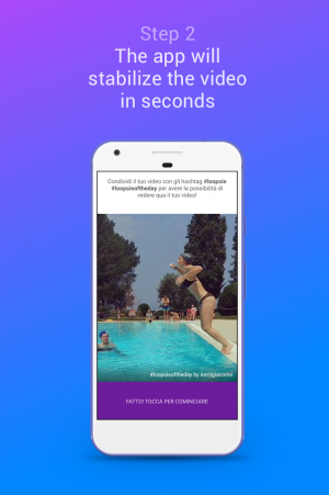 Androidアプリ「Loopsie - Cinemagraph, Living Photo」のスクリーンショット 2枚目