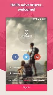 Androidアプリ「LifePinner」のスクリーンショット 1枚目