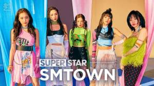 Androidアプリ「SUPERSTAR SMTOWN」のスクリーンショット 1枚目