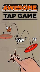 Androidアプリ「Flappy Dunk」のスクリーンショット 1枚目