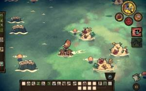 Androidアプリ「Don't Starve: Shipwrecked」のスクリーンショット 5枚目
