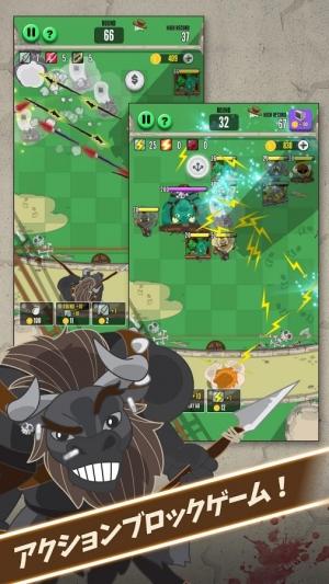 Androidアプリ「God of Block : Brick Breaker」のスクリーンショット 2枚目