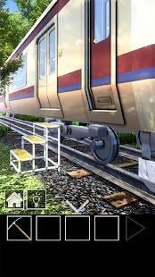 Androidアプリ「脱出ゲーム 電車のある道」のスクリーンショット 2枚目