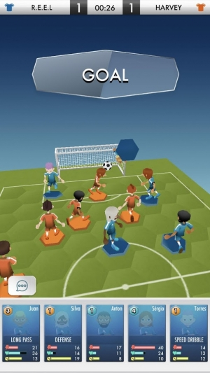 Androidアプリ「SOCCER DUEL ONLINE」のスクリーンショット 4枚目