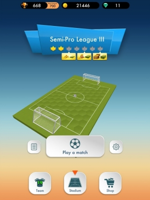 Androidアプリ「SOCCER DUEL ONLINE」のスクリーンショット 5枚目