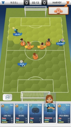 Androidアプリ「SOCCER DUEL ONLINE」のスクリーンショット 3枚目
