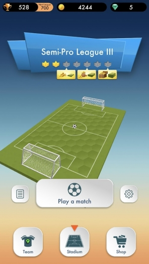 Androidアプリ「SOCCER DUEL ONLINE」のスクリーンショット 1枚目