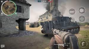 Androidアプリ「ワールドウォーヒーローズ:FPS戦争ゲーム」のスクリーンショット 4枚目