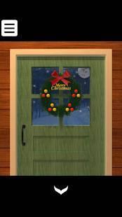 Androidアプリ「脱出ゲーム - サンタの家から脱出」のスクリーンショット 1枚目