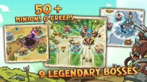 Androidアプリ「Empire Warriors TD: タワーディフェンスゲーム」のスクリーンショット 3枚目