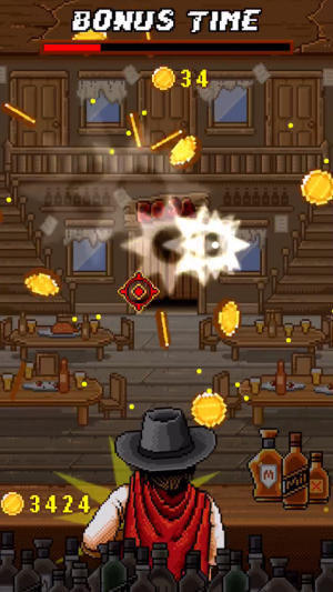 Androidアプリ「Scary Jack: wild west shooter」のスクリーンショット 4枚目