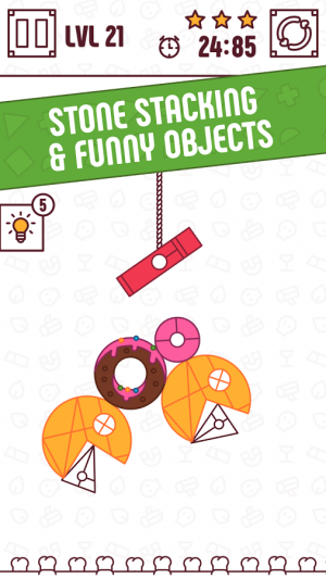 Androidアプリ「Find The Balance - Physical Funny Objects Puzzle」のスクリーンショット 5枚目