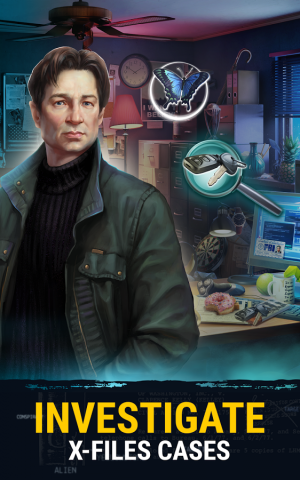 Androidアプリ「The X-Files: Deep State」のスクリーンショット 1枚目