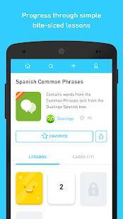 Androidアプリ「Tinycards by Duolingo: Fun & Free Flashcards」のスクリーンショット 2枚目