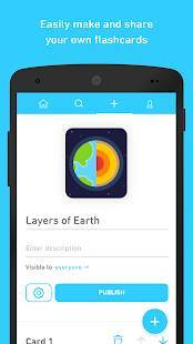 Androidアプリ「Tinycards by Duolingo: Fun & Free Flashcards」のスクリーンショット 4枚目
