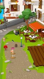 Androidアプリ「猫とサメのいる街: 気軽に遊べる3D放置ゲーム (無料)」のスクリーンショット 5枚目