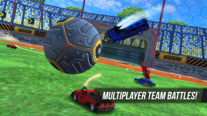 Androidアプリ「Rocket Soccer Derby: Multiplayer Demolition League」のスクリーンショット 2枚目