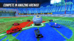 Androidアプリ「Rocket Soccer Derby: Multiplayer Demolition League」のスクリーンショット 3枚目