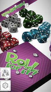 Androidアプリ「Roll For It!」のスクリーンショット 1枚目