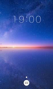 Androidアプリ「天空の塩湖ライブ壁紙」のスクリーンショット 3枚目