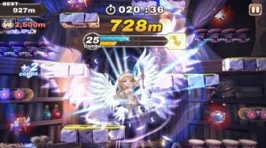 Androidアプリ「ジャンピングナイト」のスクリーンショット 4枚目