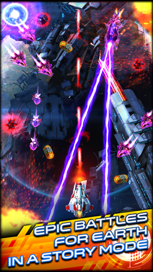 Androidアプリ「Space Warrior: The Story」のスクリーンショット 1枚目