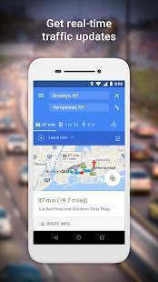 Androidアプリ「Google Maps Go - ルート案内、交通情報、乗換案内」のスクリーンショット 2枚目