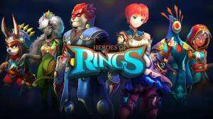 Androidアプリ「Heroes of Rings: Dragons War」のスクリーンショット 5枚目