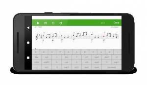 Androidアプリ「スコア クリエイター:音楽を作曲する。ミュージッククリエイション。書きます 音楽。音楽記法。音楽記譜」のスクリーンショット 4枚目