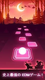 Androidアプリ「Tiles Hop: EDM Rush!」のスクリーンショット 1枚目