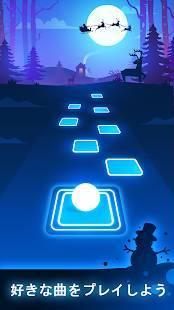 Androidアプリ「Tiles Hop: EDM Rush!」のスクリーンショット 3枚目