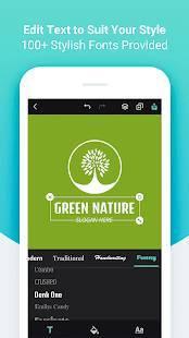 Androidアプリ「DesignEvo - Logo Maker」のスクリーンショット 3枚目