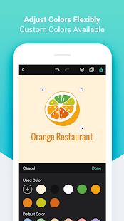 Androidアプリ「DesignEvo - Logo Maker」のスクリーンショット 5枚目