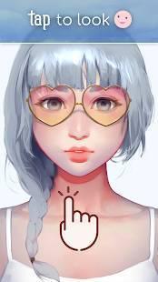 Androidアプリ「Live Portrait Maker: 女の子」のスクリーンショット 1枚目