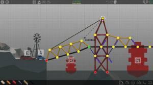 Androidアプリ「Poly Bridge」のスクリーンショット 1枚目