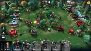 Androidアプリ「Mini Guns - Omega Wars」のスクリーンショット 4枚目