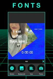 Androidアプリ「R4VE - Photo Editor, Camera, Stickers and Filters」のスクリーンショット 3枚目